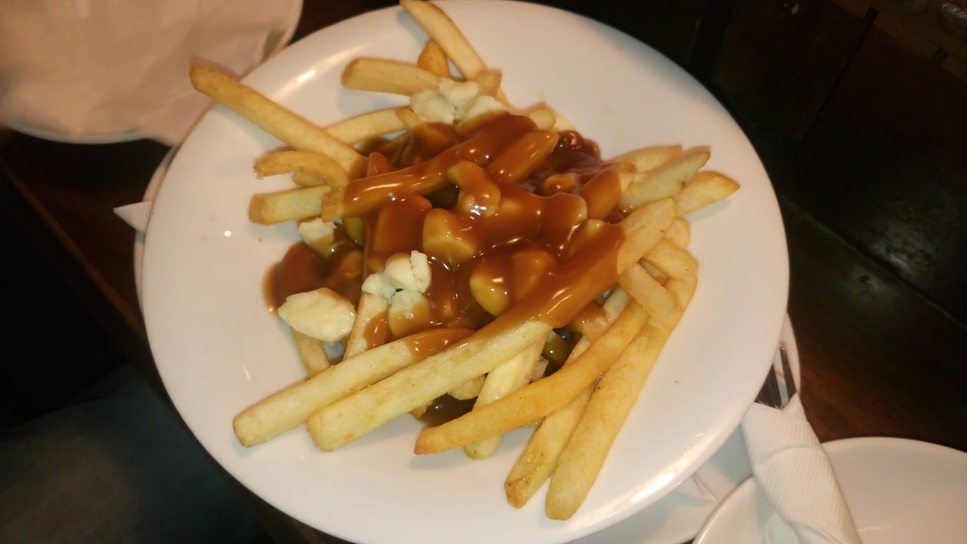 Poutine - St.James Gate Irish Pub, Banff