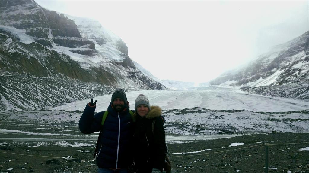 Athabasca Glacier, -6°C