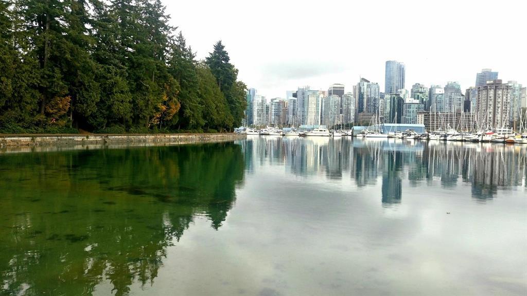 A Vancouver pioggia...