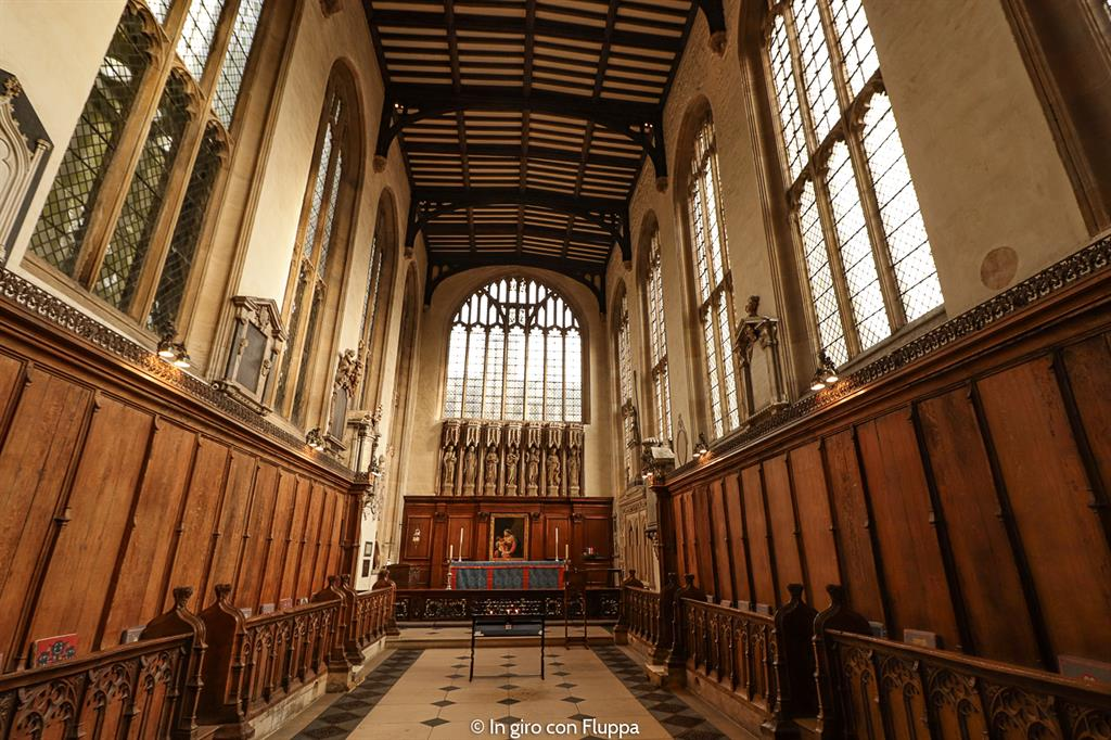 Cosa vedere a Oxford: la University Church