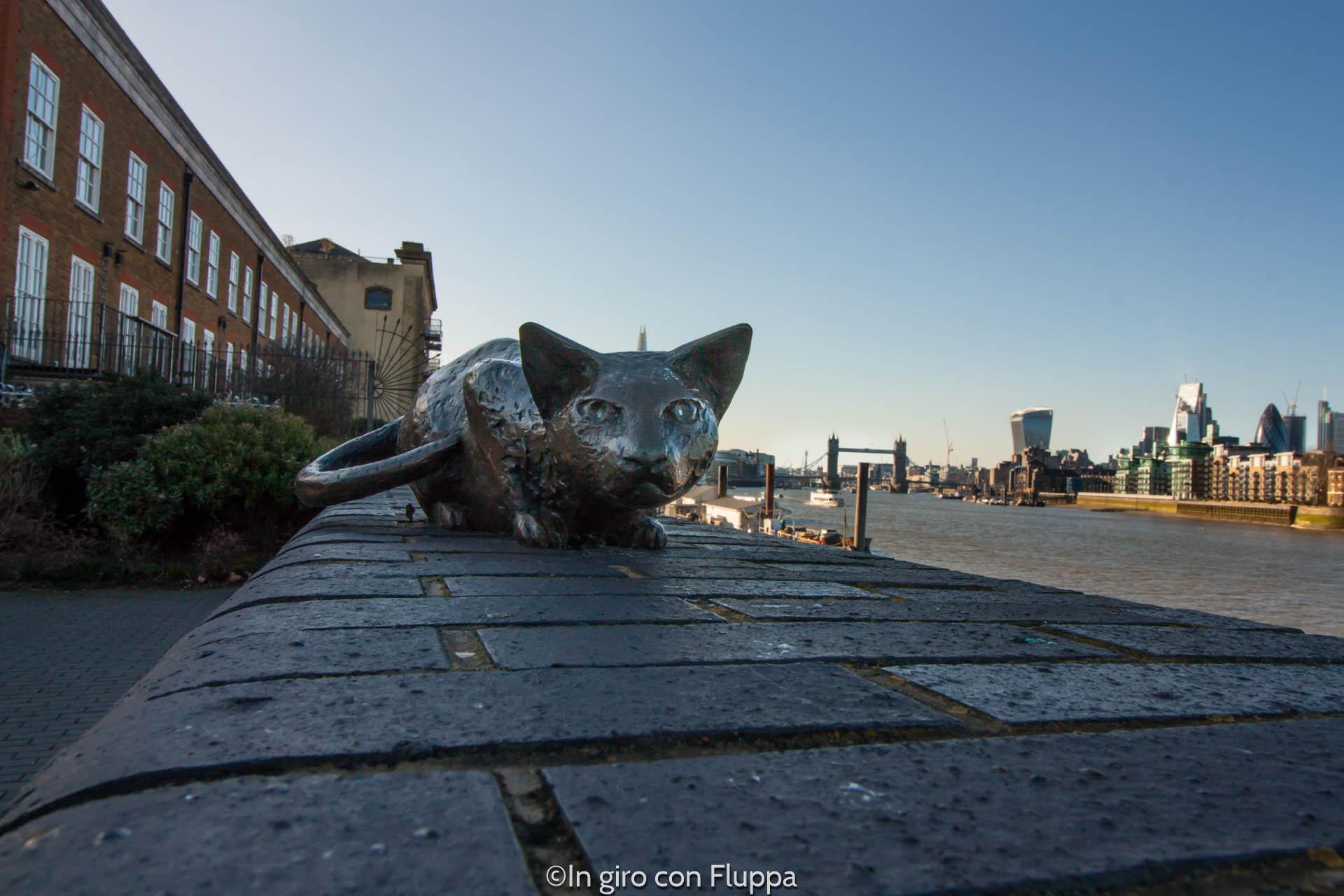 Rotherhithe - il gatto della famiglia Salter