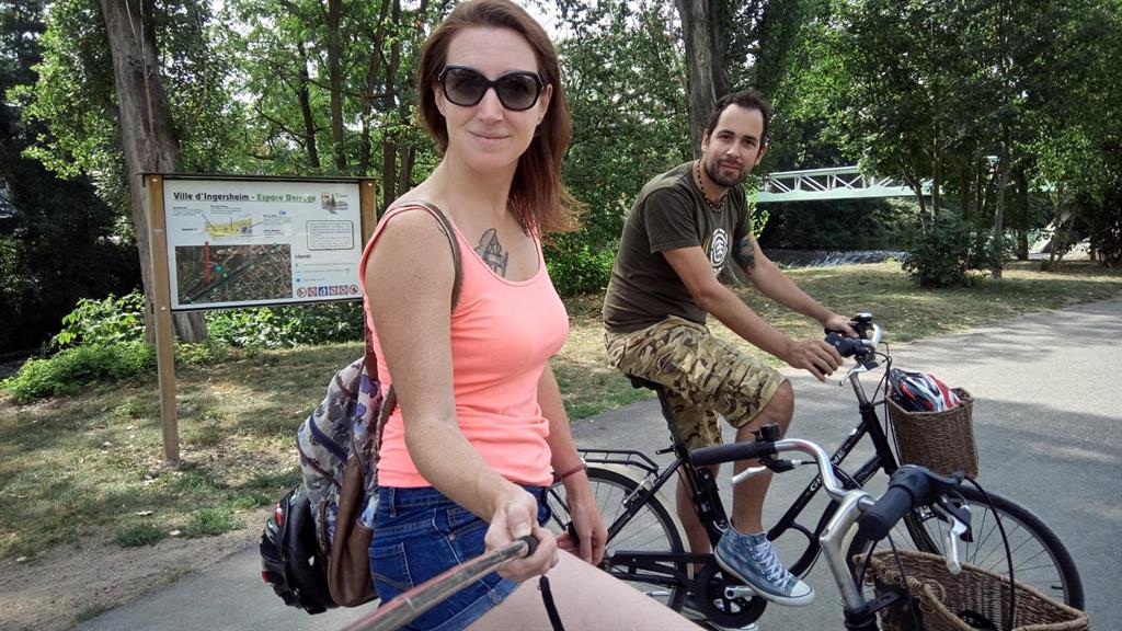 Route du vin in bicicletta