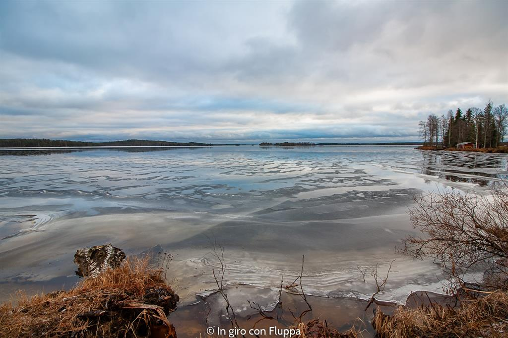 Cosa vedere a Rovaniemi e dintorni: Lago Olkkajärvi (Apukka resort)
