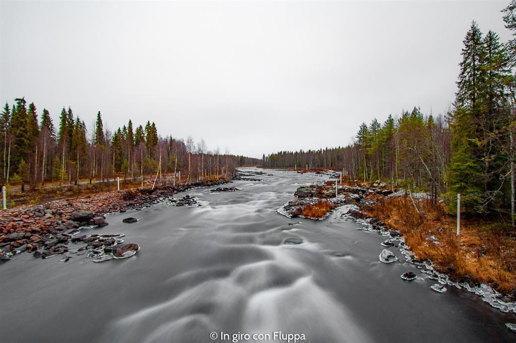 Cosa vedere a Rovaniemi e dintorni: Vikaköngäs bridge