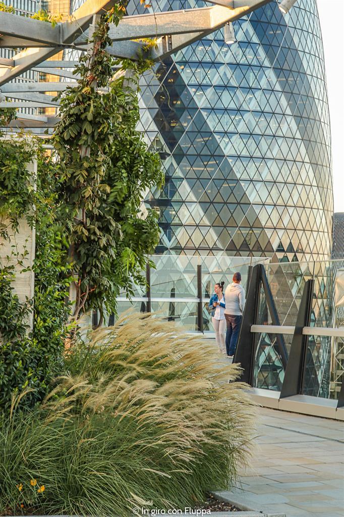 Salire gratis sui grattacieli di Londra: The Garden at 120