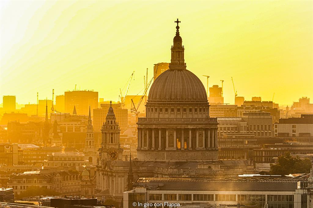 Dove vedere il tramonto a Londra: The Garden at 120