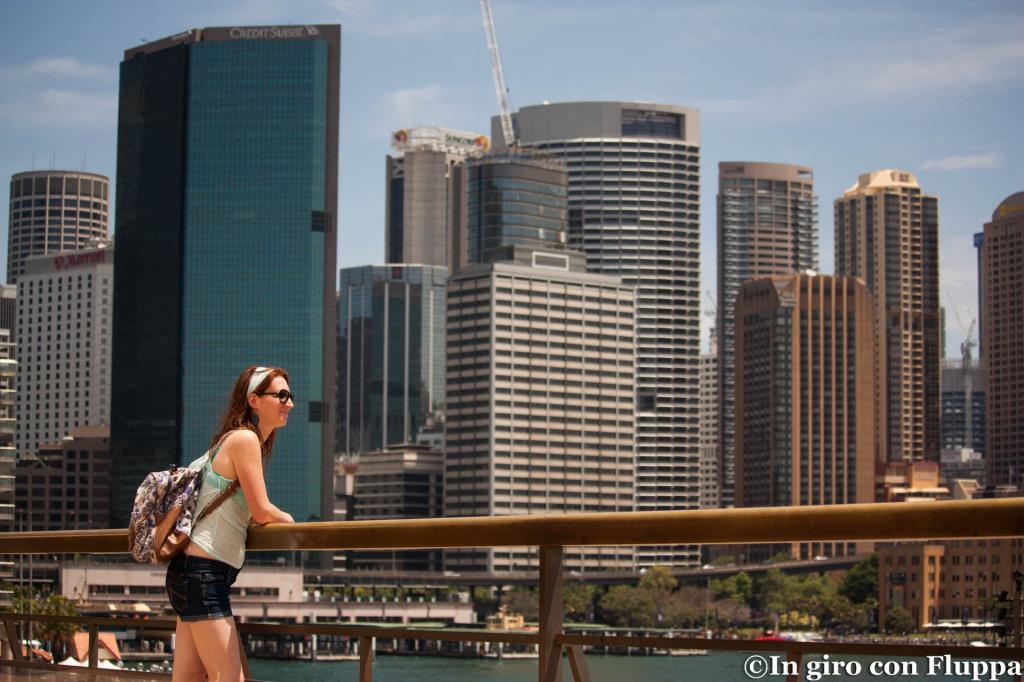 Circular Quay vista dal Sydney Opera House