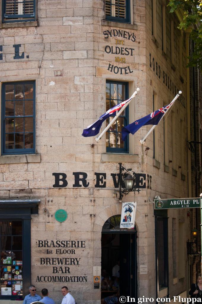 Lord Nelson Brewery Hotel, uno dei pub piu' antichi dell'Australia