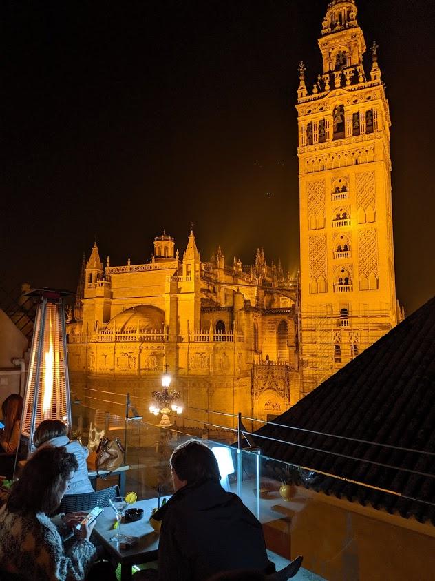 Rooftop bar a Siviglia: hotel Dona Maria