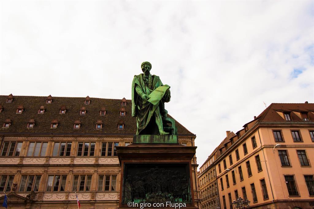 Strasburgo - Place de Gutenberg