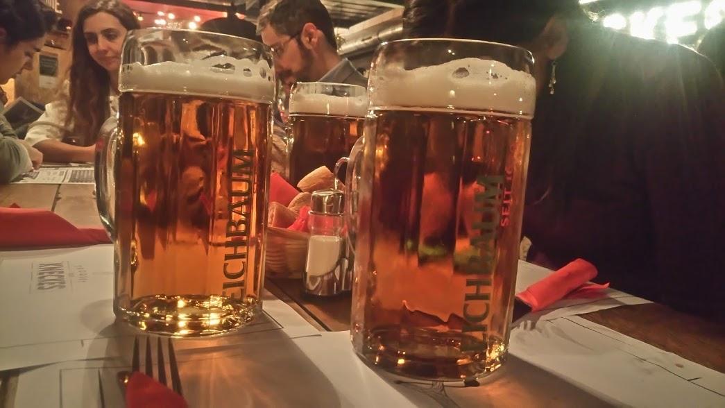 Strasburgo - boccali di birra