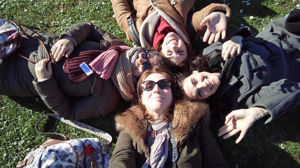 Stratford-upon-Avon, io e le mie colleghe