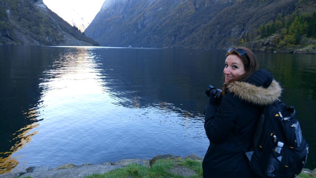 Tra i fiordi: fa freddo