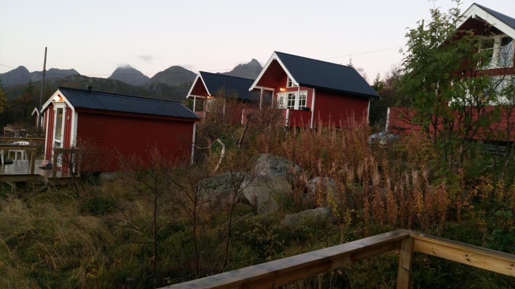 Hammerstad Camping: cabine del campeggio