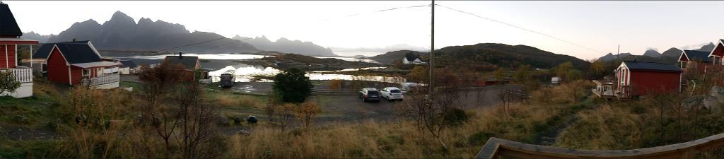 Il fiordo visto dalla nostra casina