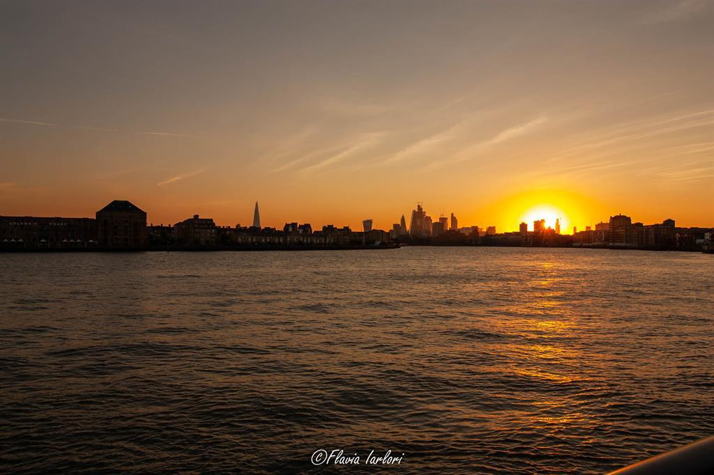 Dove vedere il tramonto a Londra: Westferry Circus