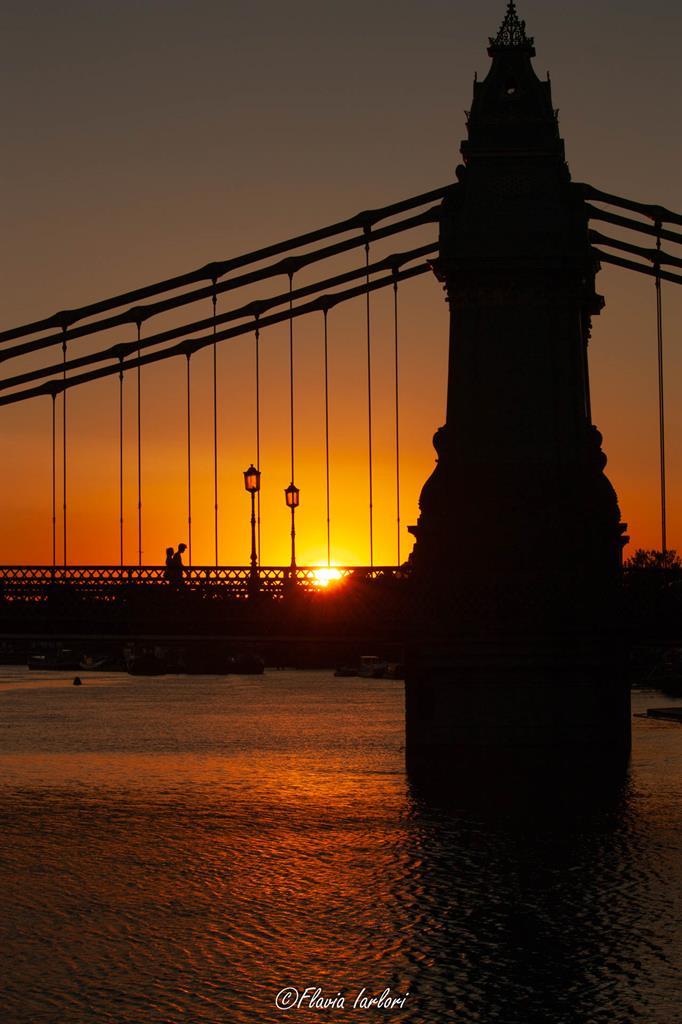 Dove vedere il tramonto a Londra: Hammersmith Bridge