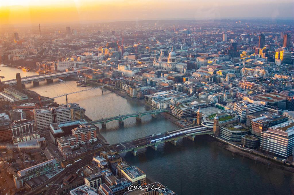 Dove vedere il tramonto a Londra: The Shard