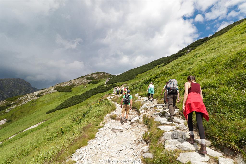 Trekking in Polonia, escursione sui Monti Tatra: Swistowa Kopa