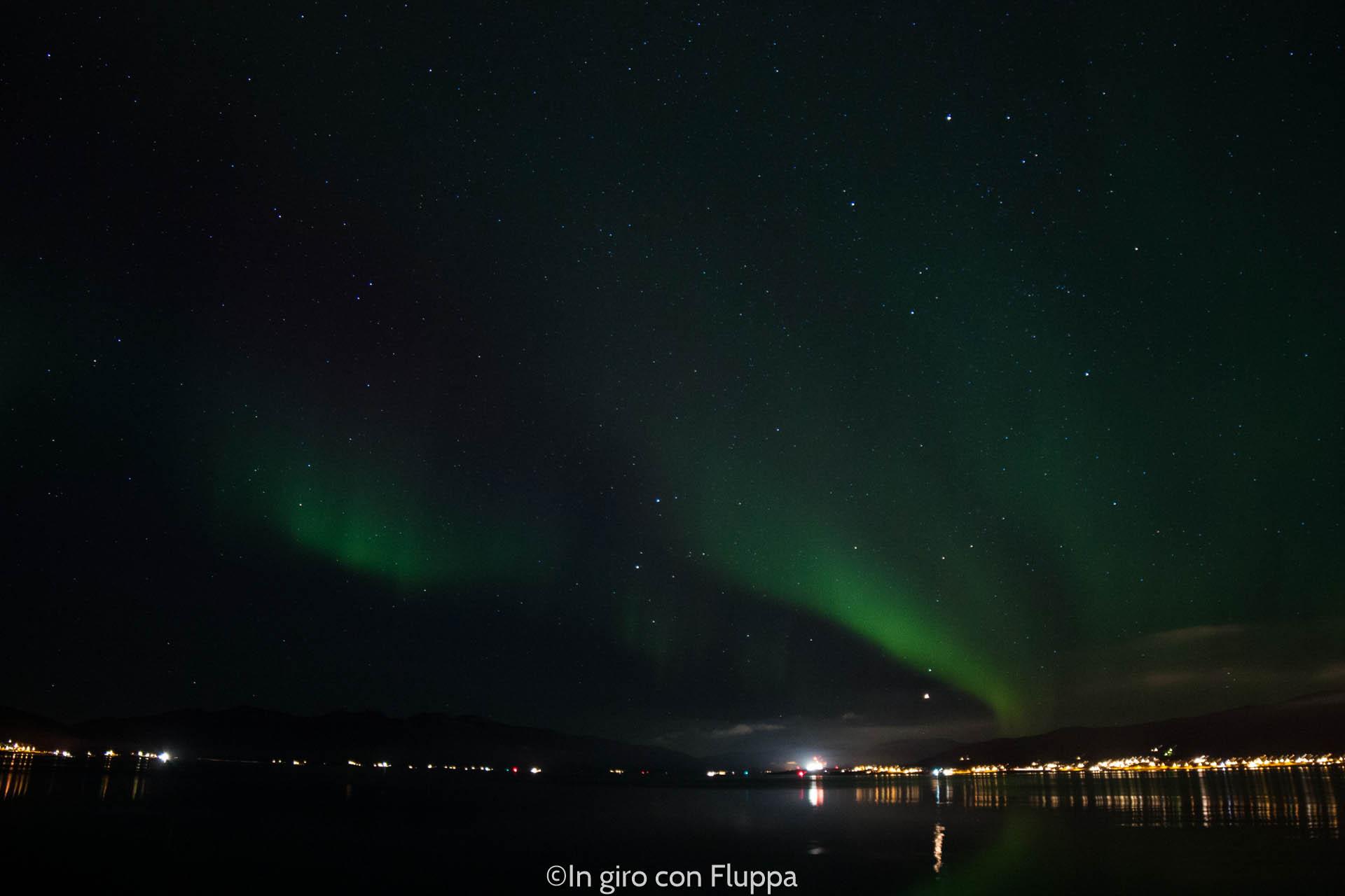 Aurora Boreale a Tromsø