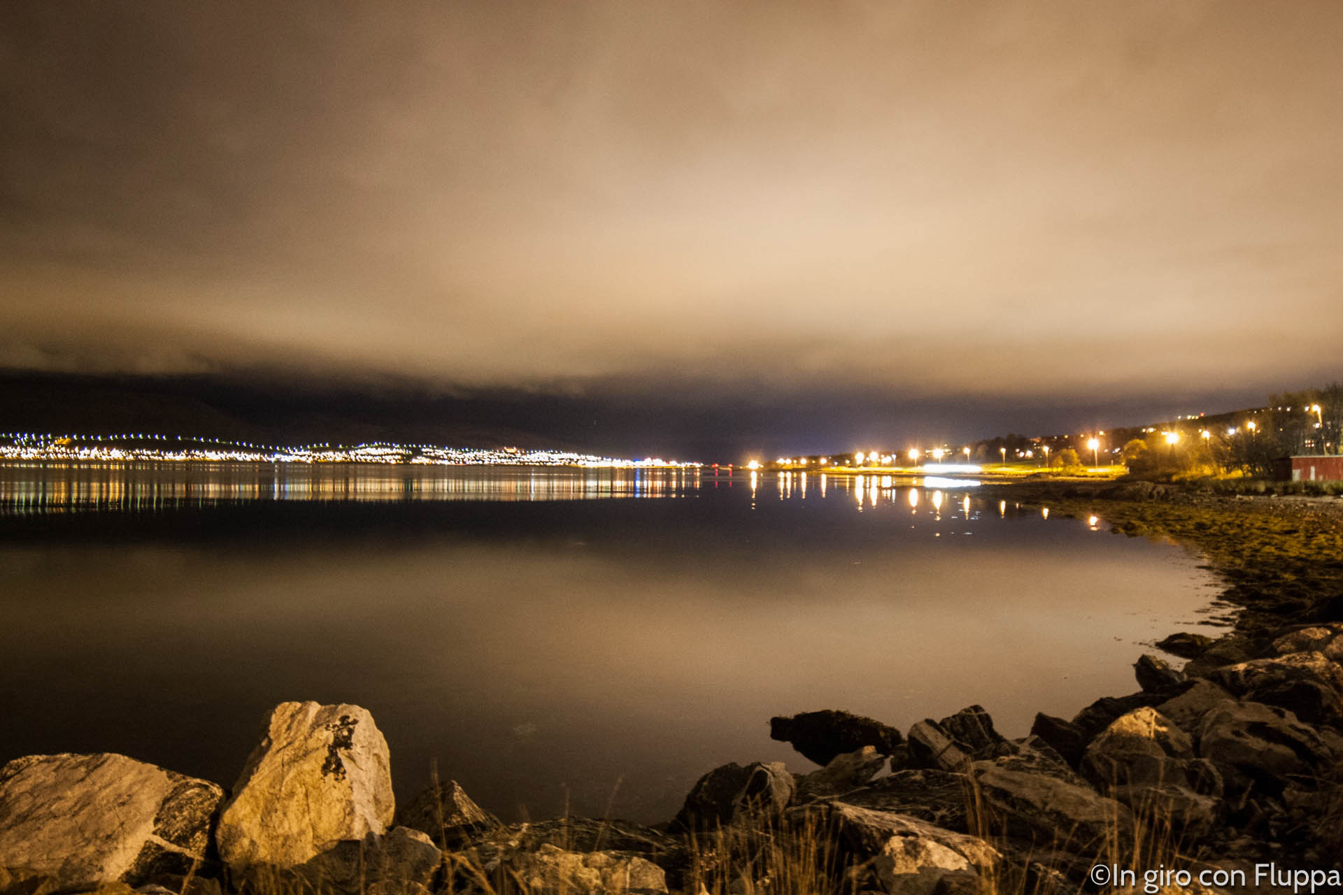 Tromsø e l' Aurora