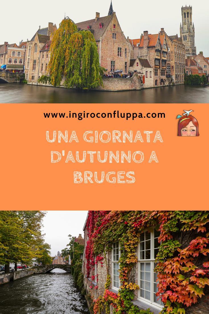 Una giornata d'autunno a Bruges