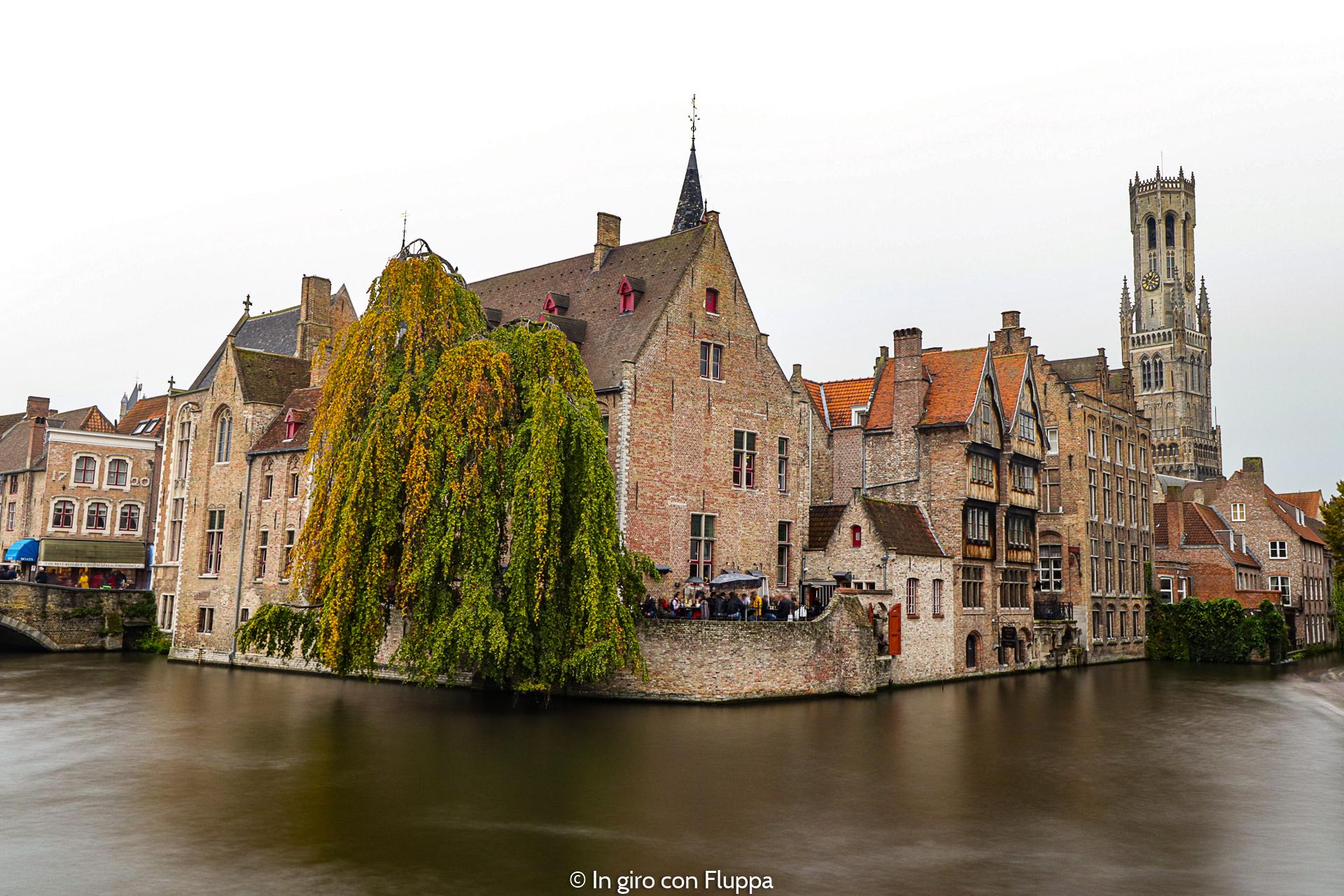 Cosa vedere a Bruges in un giorno: Molo del Rosario