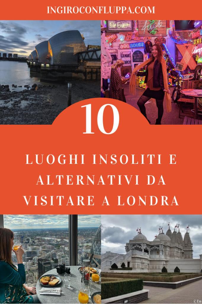 10 luoghi insoliti e alternativi da visitare a Londra