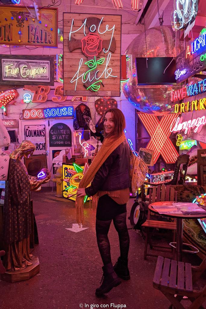 Il God's own Junkyard, paradiso per gli amanti del neon a Londra