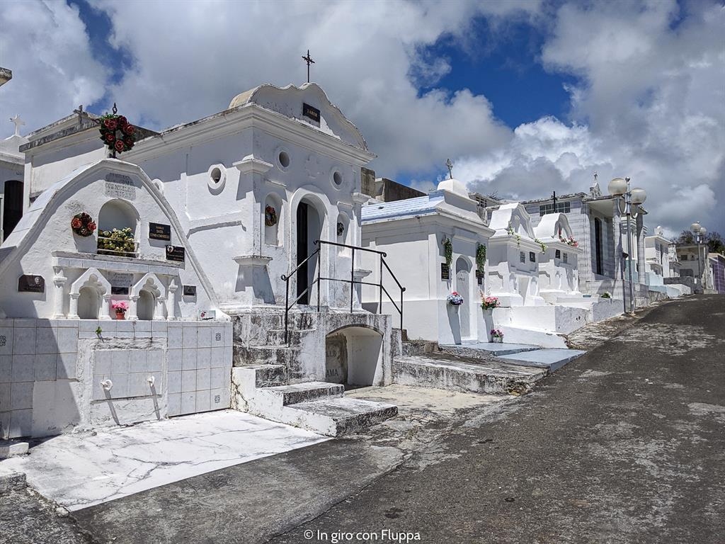 Guadalupa: cimitero di Sainte-Anne