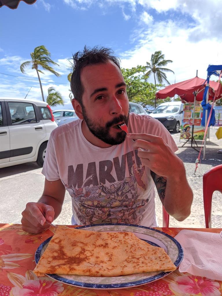 Cosa mangiare a Guadalupa: crepe