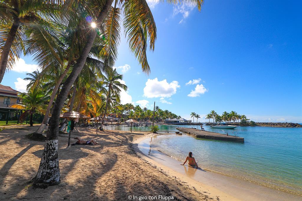 Guadalupa: spiaggia di Bas-du-Fort