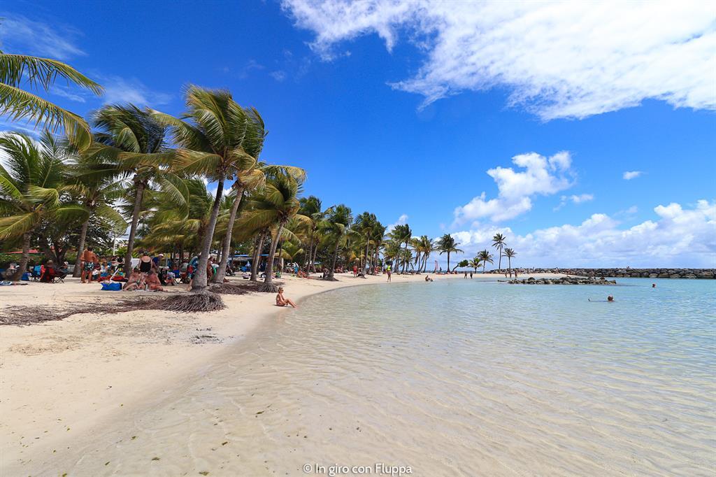 Guadalupa: spiaggia di Sainte-Anne