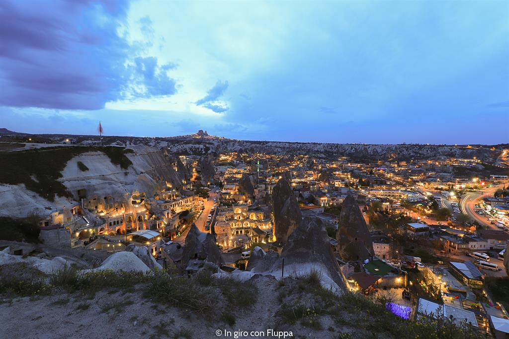 Viaggio in Cappadocia: Göreme by night