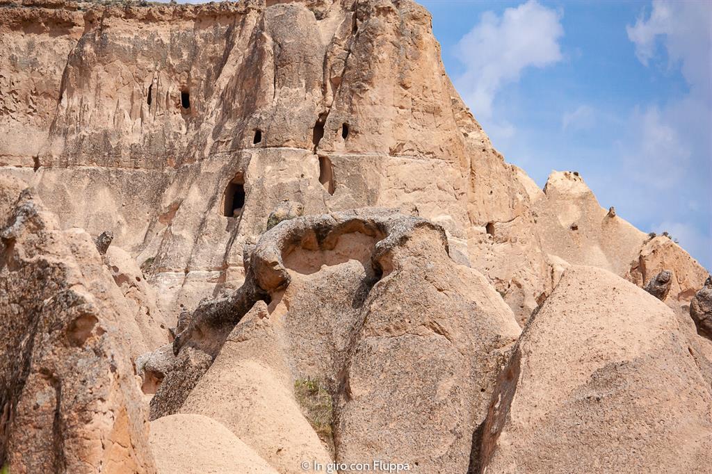 Viaggio in Cappadocia: il tour rosso. Imagination Valley, la lucertola.