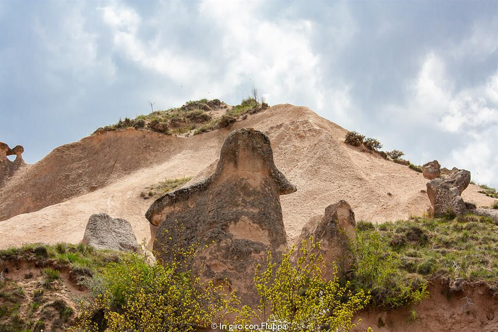 Viaggio in Cappadocia: il tour rosso. Imagination Valley, la testa di Napoleone.