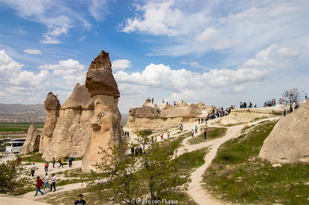 Viaggio in Cappadocia: il tour rosso. Pasabag, Monks Valley.