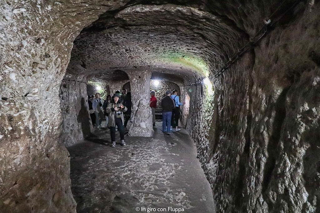 Viaggio in Cappadocia: il tour verde. Citta' sotterranea di Derinkuyu..