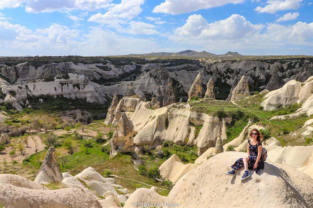 Viaggio in Cappadocia: il tour verde. Punto panoramico di Göreme
