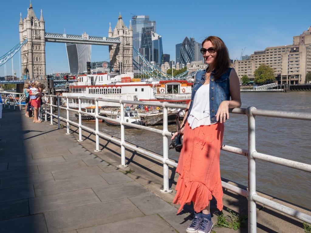 Una bella giornata di sole a Londra