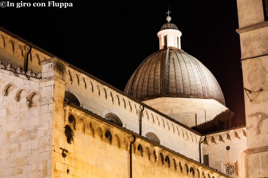 Pietrasanta - cupola del Duomo di S.Martino