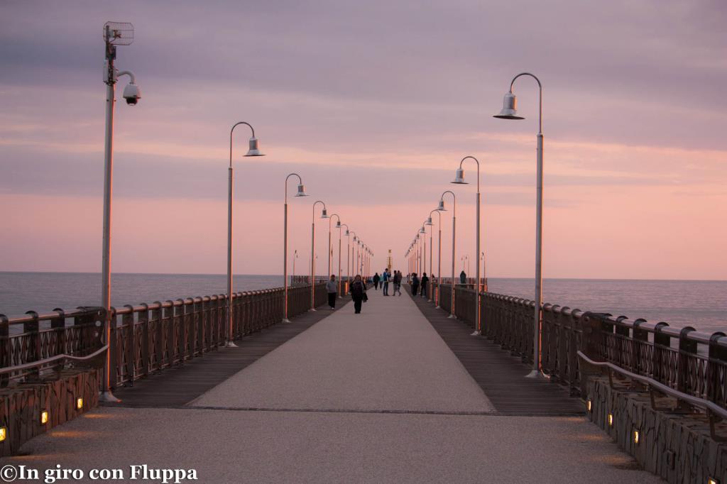 Marina di Pietrasanta - pontile