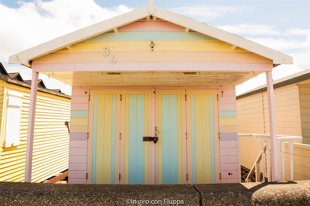Whitstable - beach huts