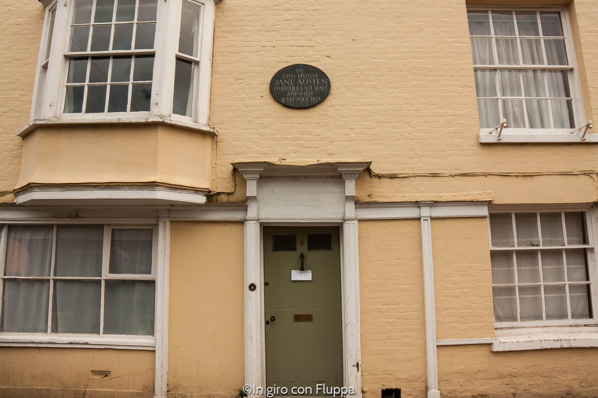 Winchester, casa di Jane Austen