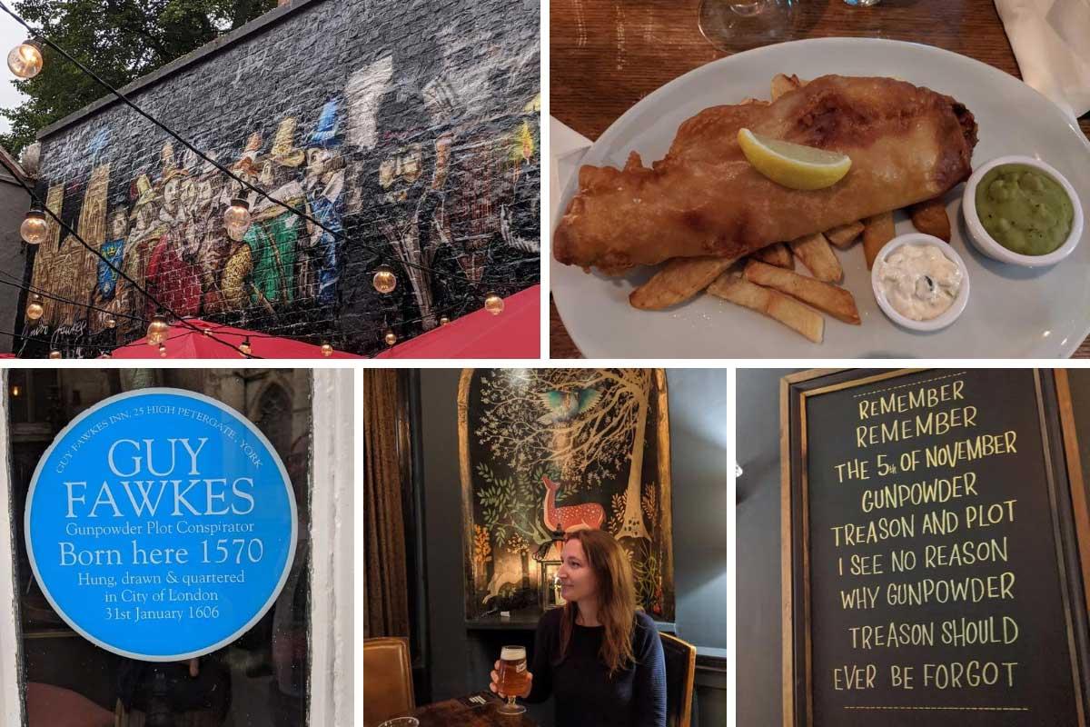 Dove mangiare a York: Guy Fawkes Inn