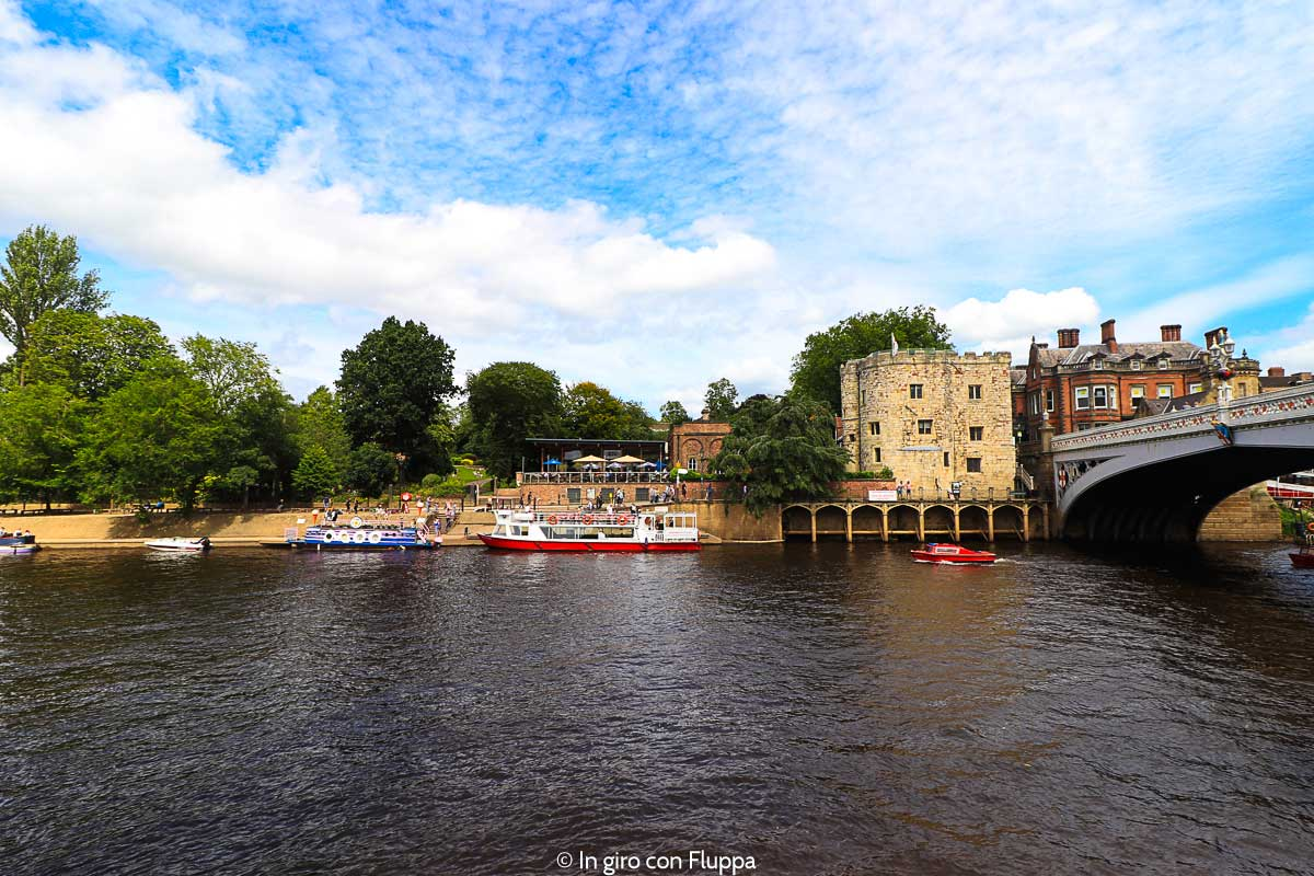 Giro in barca sul fiume Ouse