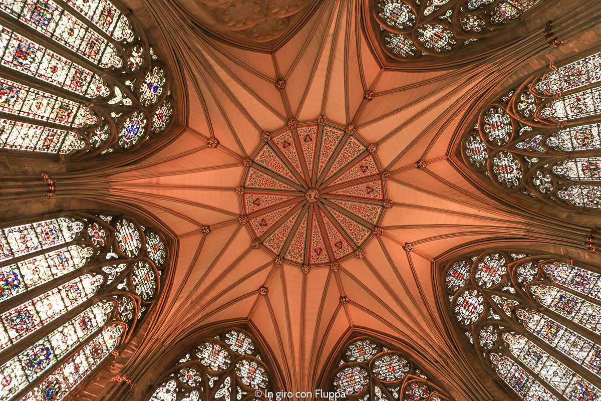 York Minster - volta della Chapter House