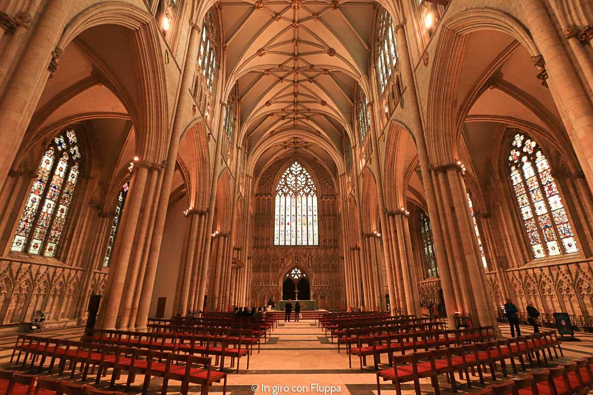 York Minster - interno