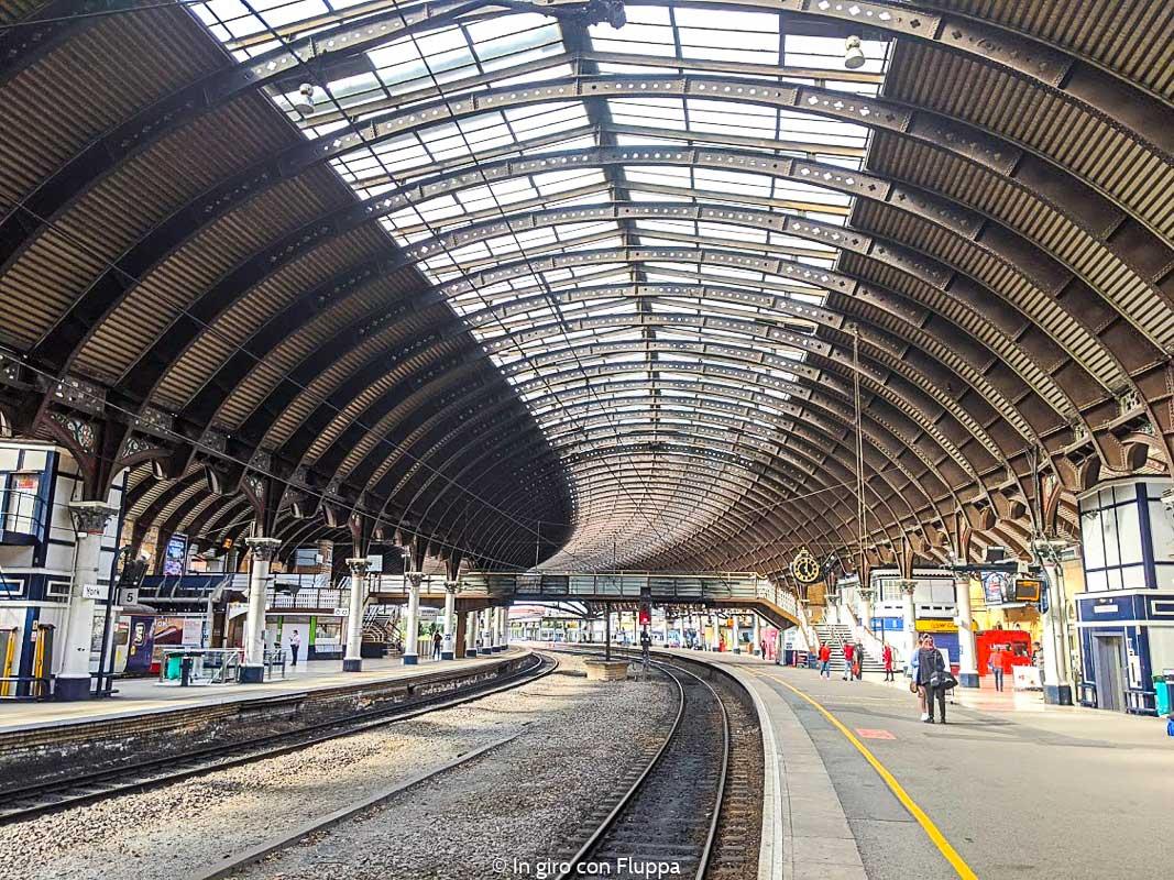 La stazione dei treni di York