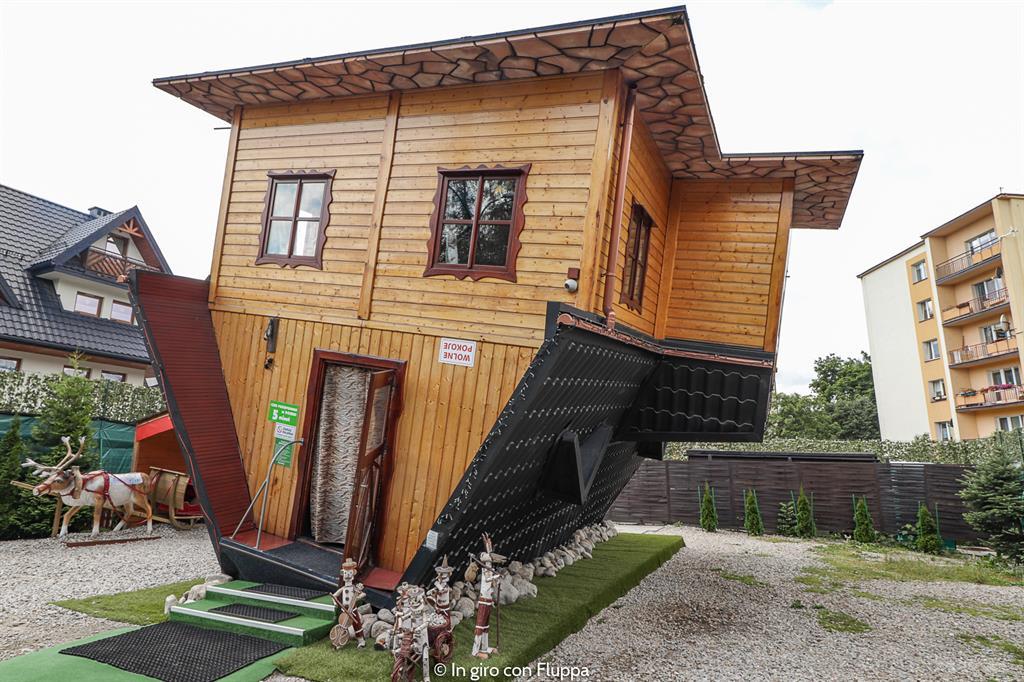 Cosa fare a Zakopane d'estate: visitare la casa sottosopra!